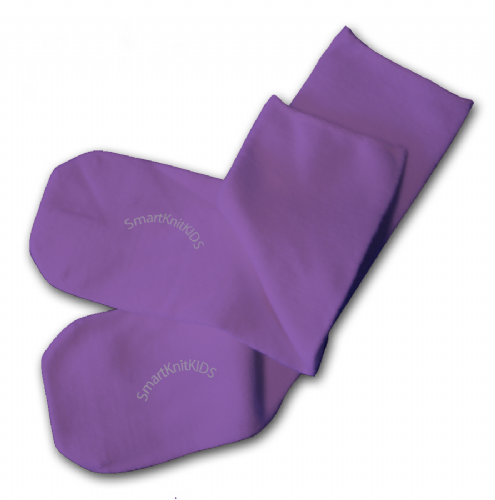Absolutely Seamless Socks - SmartKnitKIDS ultimate comfort sock: Purple
